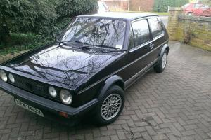 VW Golf GTi Mk1.1982 (One previous owner).