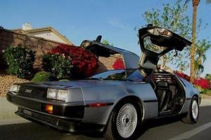 1981 DELOREAN DMC 12 COUPE FACTORY 5 SPEED MANUAL LOW MILE SELLING NO RESERVE! Photo