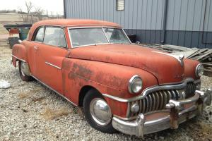 1950 Desoto Custom Sportsman 2 Door Pillarless Coupe RARE!