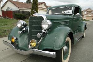 1934 Dodge DR Delux Coupe Five Window Classic Ramble Seats