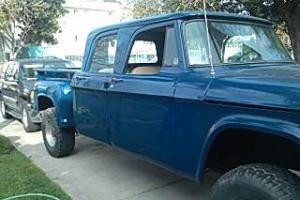 1966 Dodge Power Wagon W200 Crew Cab