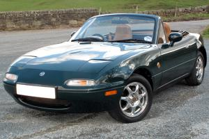 Mazda MX5 Eunos 1.8i V-Spec Auto - 60K Miles - Mazda Dealer History - NOW SOLD.