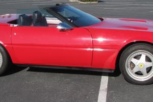 1989 Ferrari Daytona Spyder Reproduction on C4 Corvette Rolling Chassis