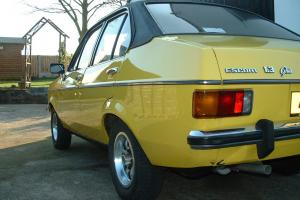 Ford Escort 1300 Ghia, excellent car, one owner and only 43,000 miles from new