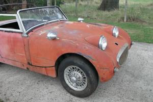 AUSTIN HEALEY SPRITE Mk1. LHD WIRE WHEELS