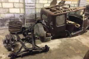 Austin Seven 7hp Vintage RK Saloon 1930 Project