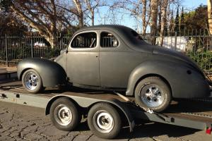 1940, coupe, hot rod, street, 350, 1932, deluxe, project, california