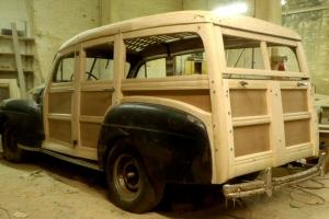 1946  Ford Station Wagon Woodie Woody  1942  1946 1947