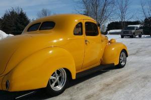 1938  Hot Rod Rare Yellow Hudson Street Rod Rat Rod Muscle Car Photo