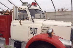 1962 International Harvester model V196A Firetruck