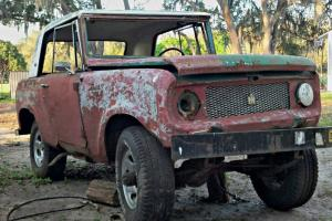1967 International Scout 800 with Sportop and great running gear, rough body