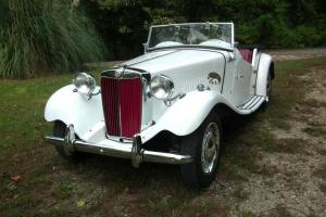 original Numbers Matching MG TD 1952 Convertible eye-catching