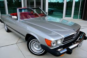 STUNNING! Very original presenting, top condition convertible. Gorgeous 450 SL