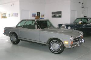 1970 Mercedes-Benz 280SL Arabian Grey/Black leather - Auto/Correct AC
