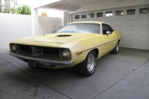 1973 PLYMOUTH BARRACUDA  GREAT BODY CALIFORNIA CAR