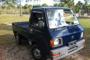 1987 Subaru Sambar Mini Truck 4x4  Kei Japanese Pick Up Truck