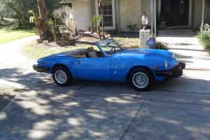 1980 Triumph Spitfire Base Convertible 2-Door 1.5L