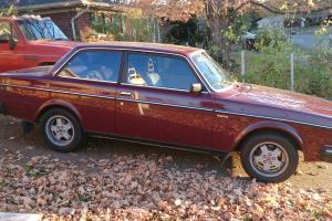 1981 VOLVO 240 DL 2 DOOR COUPE