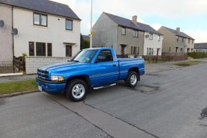 dodge ram 1500 truck pick up truck muscle car american Photo