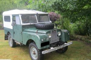 land rover series 1 1954 2 owners from new Photo