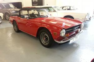 Triumph TR6 Injection 1975 STUNNING CONDITION,FULL NUT & BOLT RESTORATION !!