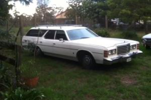 "1974 Hearse Ford 400 Cleveland C6 9"" Diff 351 GT Historic Rego"