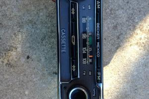 Vintage Becker Radio Cassette