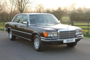 Mercedes-Benz 350 SEL | Stunning Black with Black | 52K Miles | 1 Previous Owner
