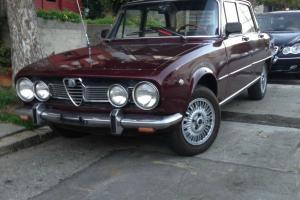 1969 Alfa Romeo Berlina