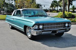 beautiful restoration just 1962 Cadillac Series 62 coupe just 64,290 mile's mint