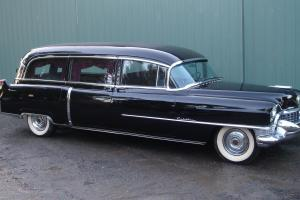 1955 Cadillac Meteor Hearse 26,000 miles from new Very nice car in amazing shape