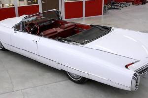 1960 Cadillac Series 62 Factory Convertible Nice car, No Rust, Mostly Original.