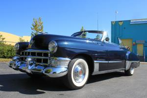 1949 Cadillac Series-62 Convertible Blue/Red 66k miles Great Driver 44 Pictures