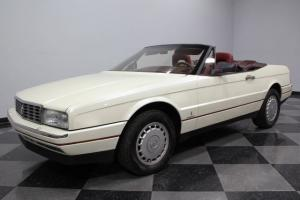 GEORGEOUS PEARL WHITE FINISH, 4.1 LITER V8, RED LEATHER INTERIOR, LOADED, NICE