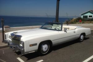 11.5K Orig Mile So. Cal 1976 Cadillac Eldorado Convertible. 2nd Owner Time Warp