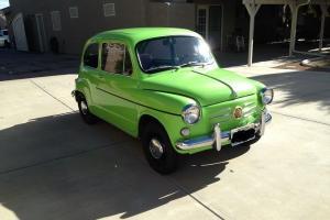 1966 600D Fiat Custom Full Resto