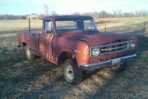 1971 International  Pickup 1100 4X4