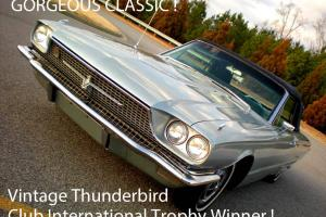 1966 FORD TBIRD THUNDERBIRD CONVERTIBLE INTERNATIONAL TROPHY WINNER MANY OPTIONS Photo
