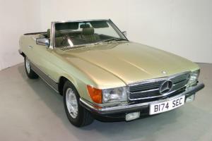 1984 Mercedes-Benz R107 500 SL - 66k miles, full service history
