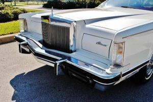 1979 Lincoln Mark V Coupe 6.6L 25,000 miles, Mint!! Photo