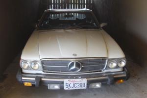 Mercedes benz SL 45 convertible