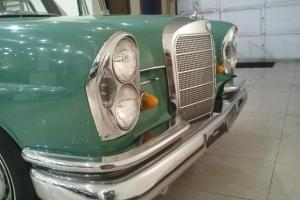 1963 Mercedes 220 Sb Fintail Sedan. Been in the same family since new!