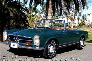 67 250SL-4SP-ROADSTER-HARDTOP CONVERTIBLE-**1 OWNER! ARIZONA CAR WITH HISTORY**