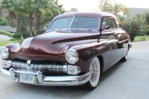 1950 MERCURY 2-DOOR COUPE * Cinnamon Candy over Gold * Show Car Condition
