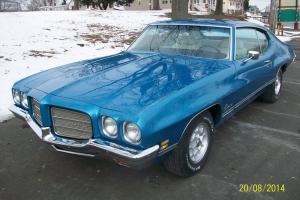 1972 Pontiac Luxury Lemans Rare L75 Y code 455 Turbo 400 12 bolt rear 1 of 71!!!