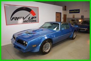 1978 Pontiac Trans Am W72 TA6,6 TTops Ship for FREE Suvivor