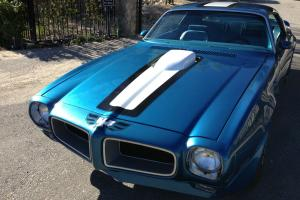 1970 1/2 PONTIAC TRANS AM, PHS DOCUMENTED, LUCERNE BLUE, CALIFORNIA CAR, NO RUST