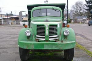 Rare Truck Short 1952 REO F22 3 Yard Garwood Dump Photo