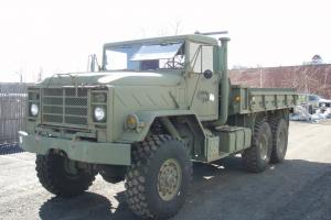 1986 AM General M923A1 5-Ton, 6x6 Cargo Truck 9750 ORIG  MILES MILITARY TRUCK