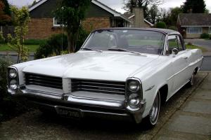 PONTIAC PARISIENNE 1964 Hot Rod. cool 60's classic red flake roof.